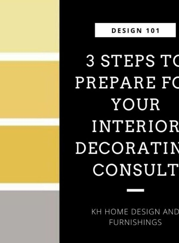 Interior Decorating Consultation: 3 Steps to Being Fully Prepared
