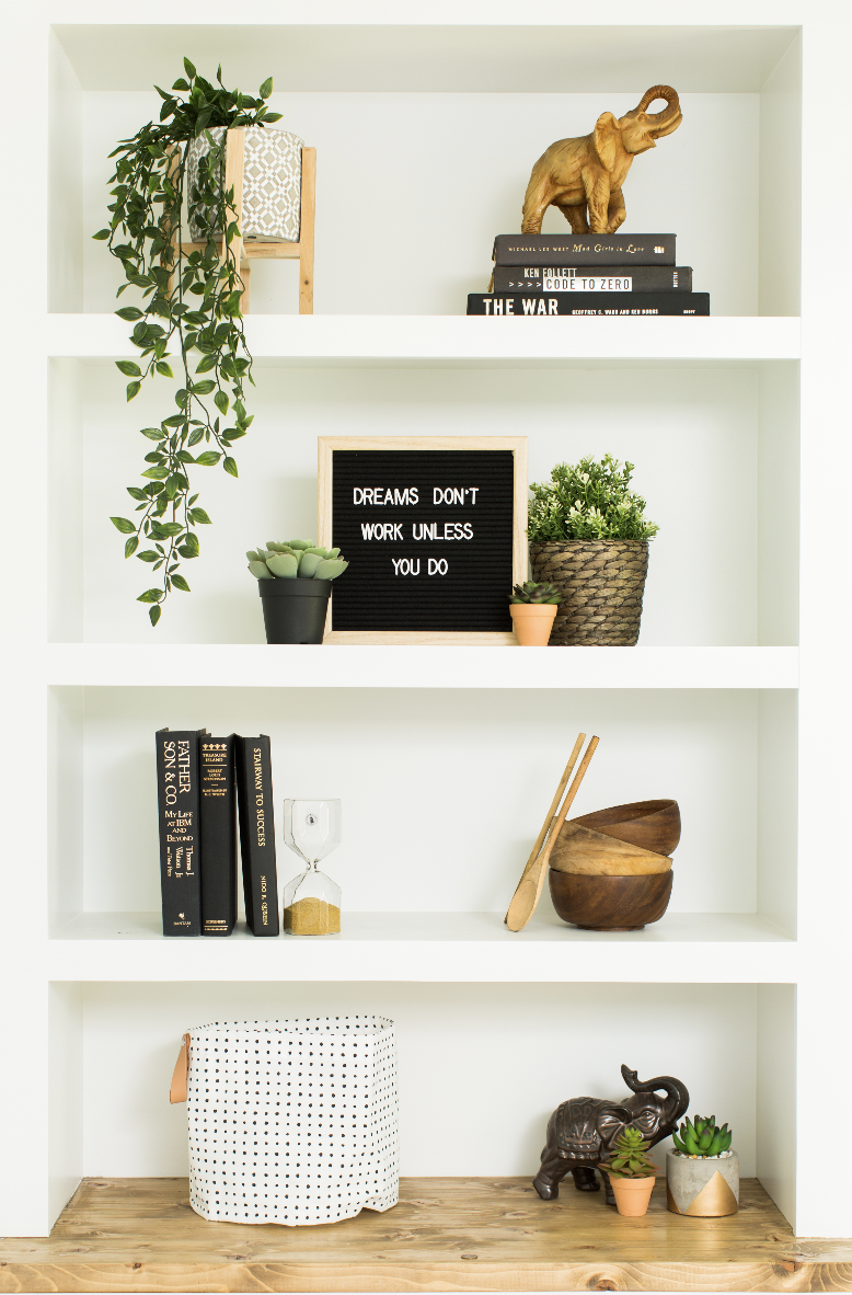 How to Style Your Shelves Like a Pro
