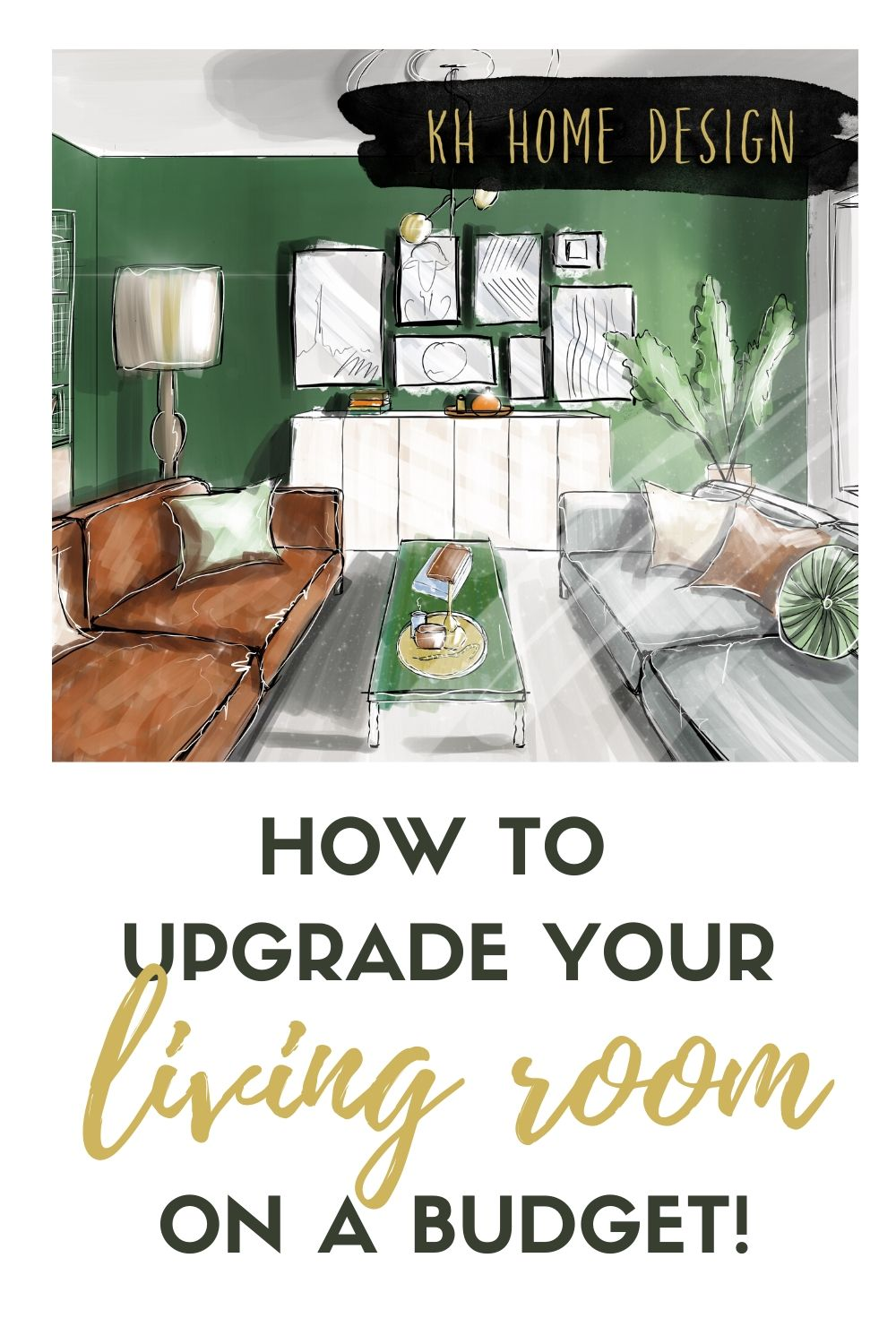 Upgrade your living room on a budget