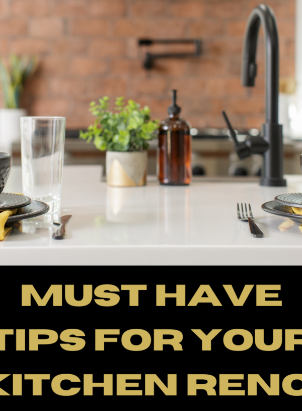 6 Kitchen Design Tips You Need to Know Before Your Next Reno