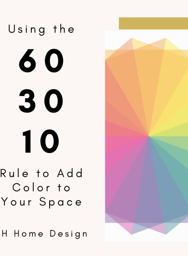 Using The 60-30-10 Rule to Color Your Space Effectively