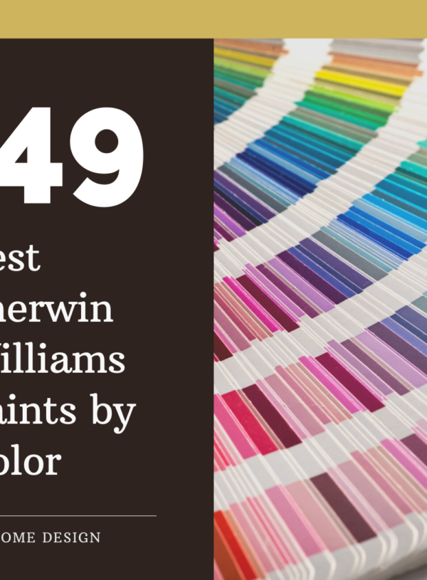 49 Best Sherwin Williams Paints by Color