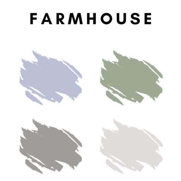Farmhouse Color Palette Ideas
