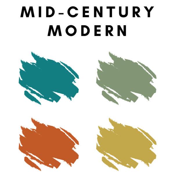 Mid-Century Color Palette Ideas